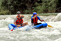 Kanadier Rafting