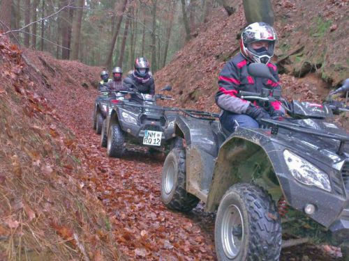 After Work Quadtour in der Oberpfalz